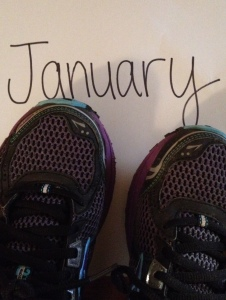 In this blog post, I'm taking a look at my running this January. (Vanessa Junkin photo)