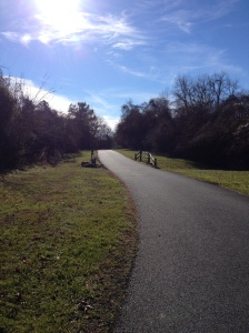 I enjoyed running on the Cross Island Trail in Kent Island on Dec. 26. (Vanessa Junkin photo)
