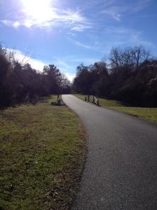 I enjoyed running on the Cross Island Trail in Kent Island on Dec. 26. (Vanessa Junkin photo)