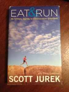 """Eat & Run"" by Scott Jurek will be the first book in my monthly blog series. (Vanessa Junkin photo)"