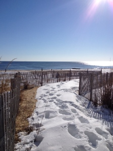 Here's one of the entrances to the beach off of the Rehoboth Beach boardwalk. (Vanessa Junkin photo)