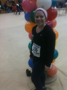 Here I am after running the Tim Kennard River Run 10-miler on March 1. (Michael Piorunski photo)