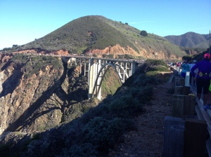 I got this photo of the Bixby Bridge while on the course. (Vanessa Junkin photo)