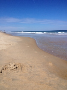 Here's a picture from my sand run on May 16 in Ocean City. (Vanessa Junkin photo)