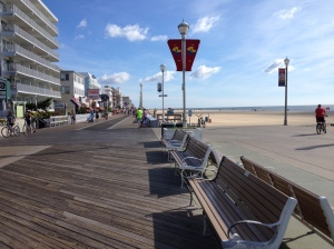 I enjoyed running on the Ocean City Boardwalk on Friday. (Vanessa Junkin photo)