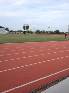 I participated in the All-Comers Track Meet at Wicomico County Stadium on July 9. (Vanessa Junkin photo)