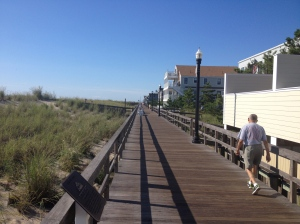 Here's a shot from the Bethany Beach boardwalk that I took while on my Friday run. (Vanessa Junkin)