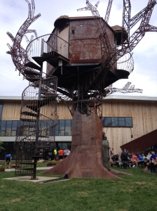 Here's the Steampunk Treehouse at Dogfish Head Craft Brewery in Milton, Del. (Vanessa Junkin photo)