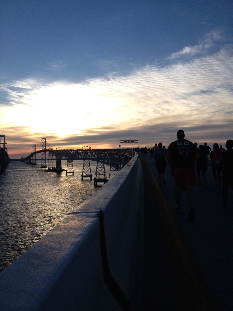Here's the Bay Bridge from the run! (Vanessa Junkin photo)