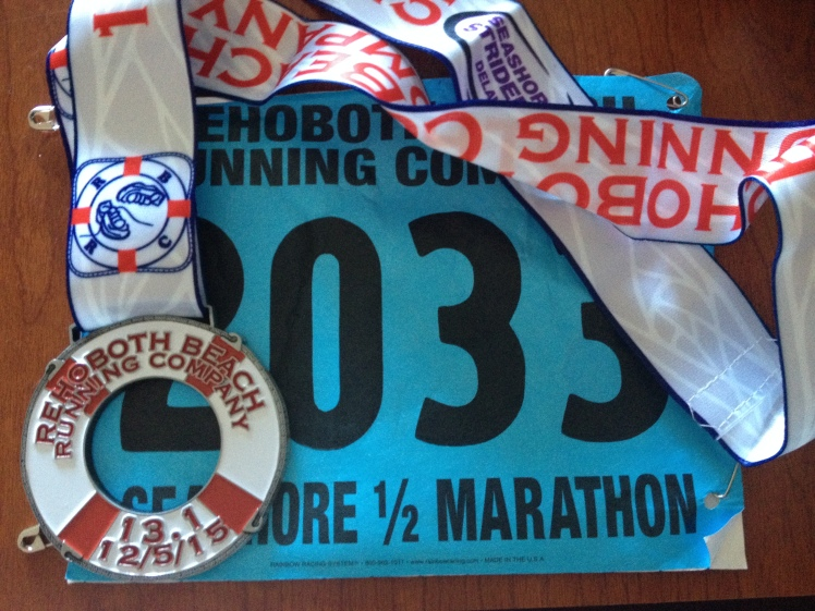 Rehoboth-medal and bib