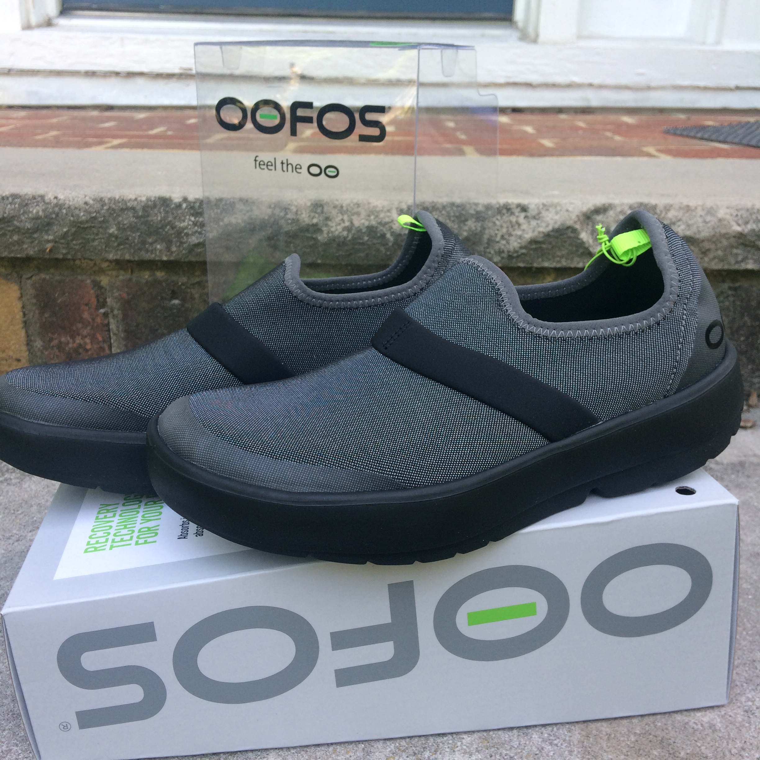 OOFOS OOmg Fibre Low shoes