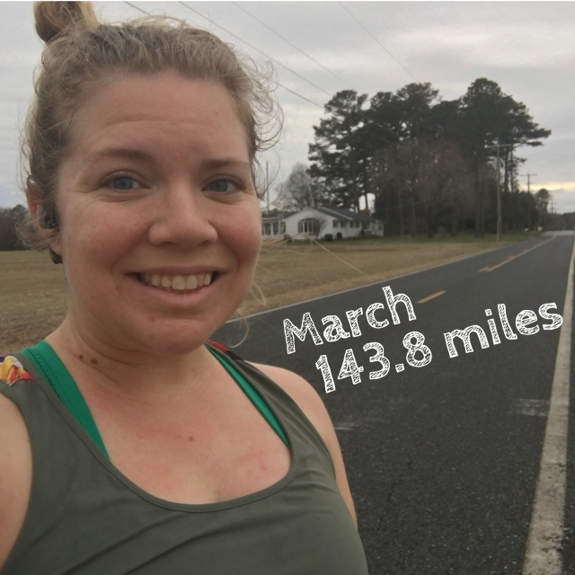 March Wrap-Up: A mostly-successful month of running interrupted by a slight injury! – She Runs by the Seashore