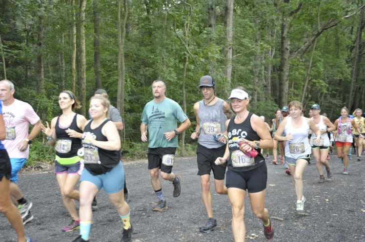 Vanessa is among a group of runners starting the Naylor Mill 7K on Friday, Aug. 2.