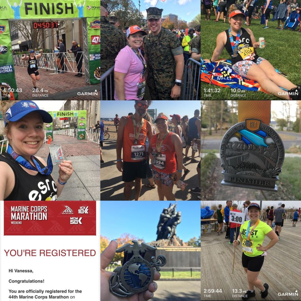 Instagram Best Nine - Collage of nine popular photos from 2019, mostly from races.