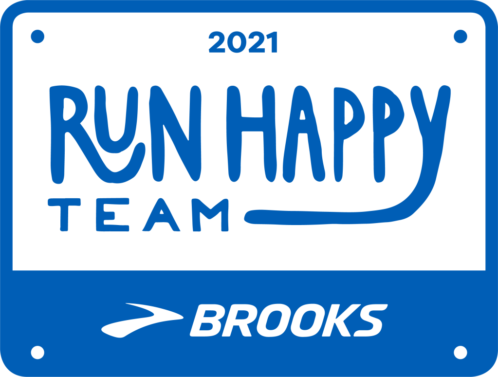 2021 Run Happy Team logo